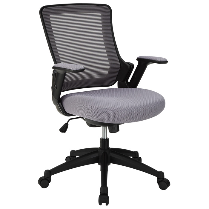 Aspire Office Chair - Mesh, Adjustable Arms, Gray