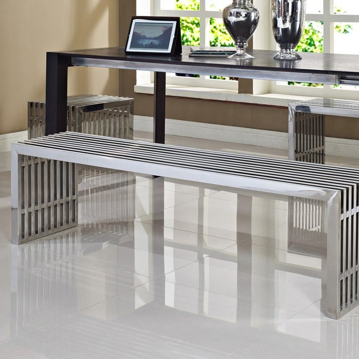 Gridiron 3 Piece Bench Set - Stainless Steel - EEI-867