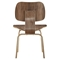 Fathom Dining Chairs - Wood, Walnut (Set of 6) - EEI-910-WAL