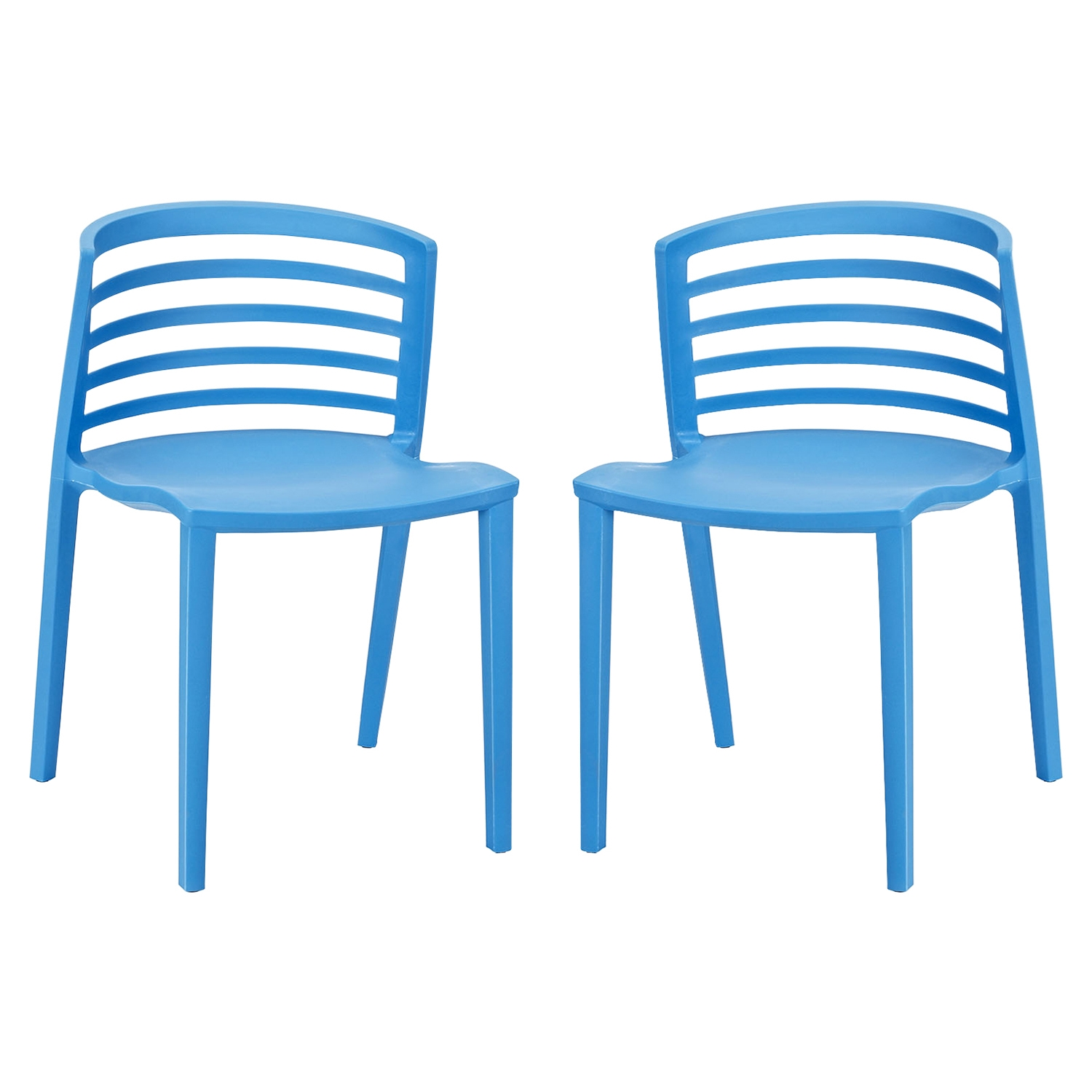 Curvy Dining Chairs (Set of 2)