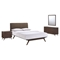 Tracy 4 Pieces Queen Bedroom Set - EEI-5264-CAP-SET