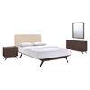Tracy 4 Pieces Queen Bedroom Set