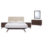 Tracy 5 Pieces Queen Bedroom Set