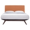 Tracy 5 Pieces Queen Bedroom Set - Cappuccino, Orange - EEI-5340-CAP-ORA-SET