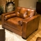 Soho Rustic Brown Leather Sofa and Chairs Set - ELE-SOH-3PC-S-SC-SC-RUST-1