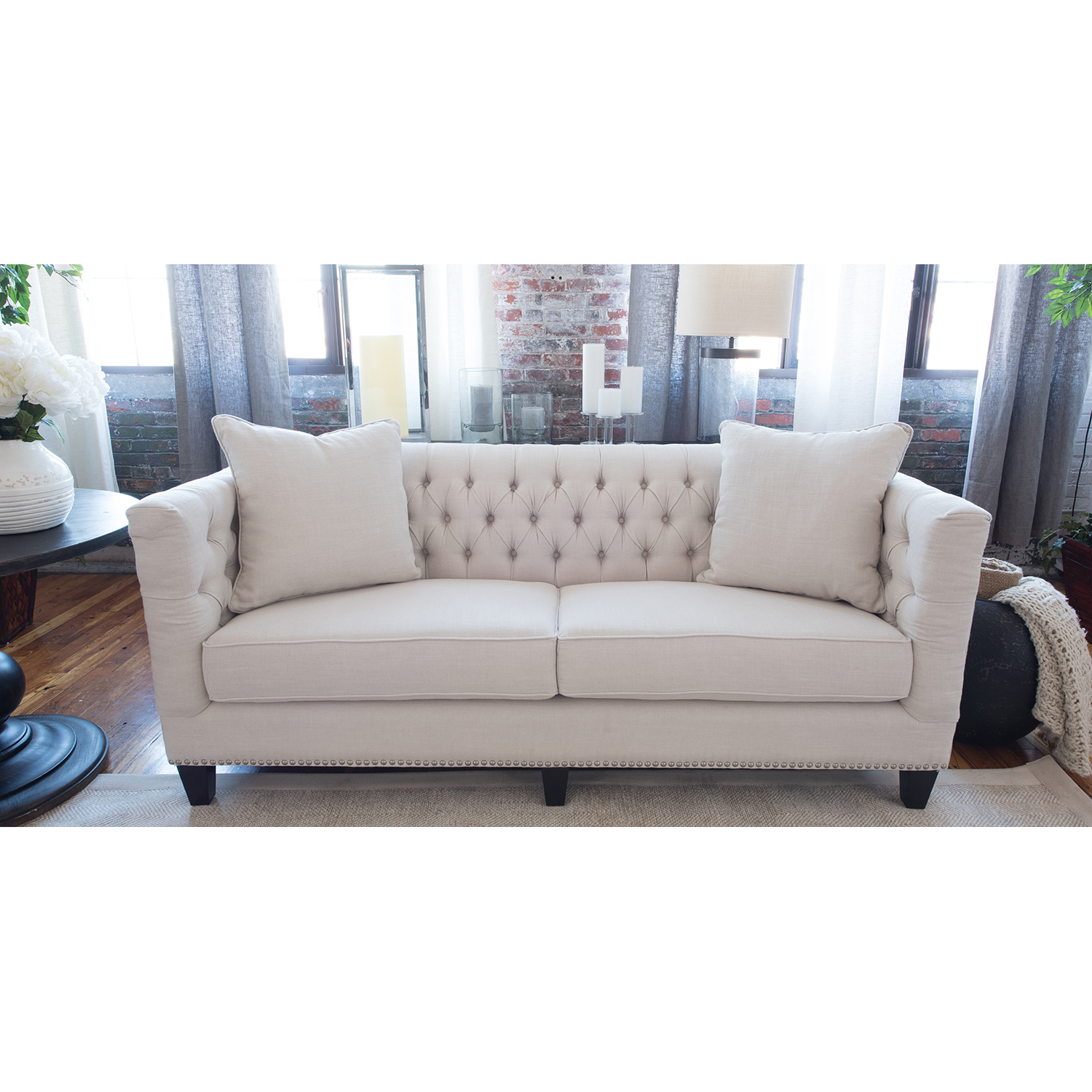 South Beach Sofa - Seashell - ELE-SOU-S-SEAS-7-NH30