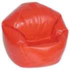 Lipstick Red Bean Bag Chair for Kids