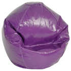 Grape Vinyl Kids Bean Bag Chair