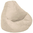 Microsuede Extra Large Fawn Bean Bag