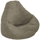 Microsuede Extra Large Olive Bean Bag
