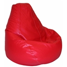 Lifestyle Red Extra Large Bean Bag Chair