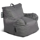 Big Maxx Kids Bean Bag Armchair - Gray