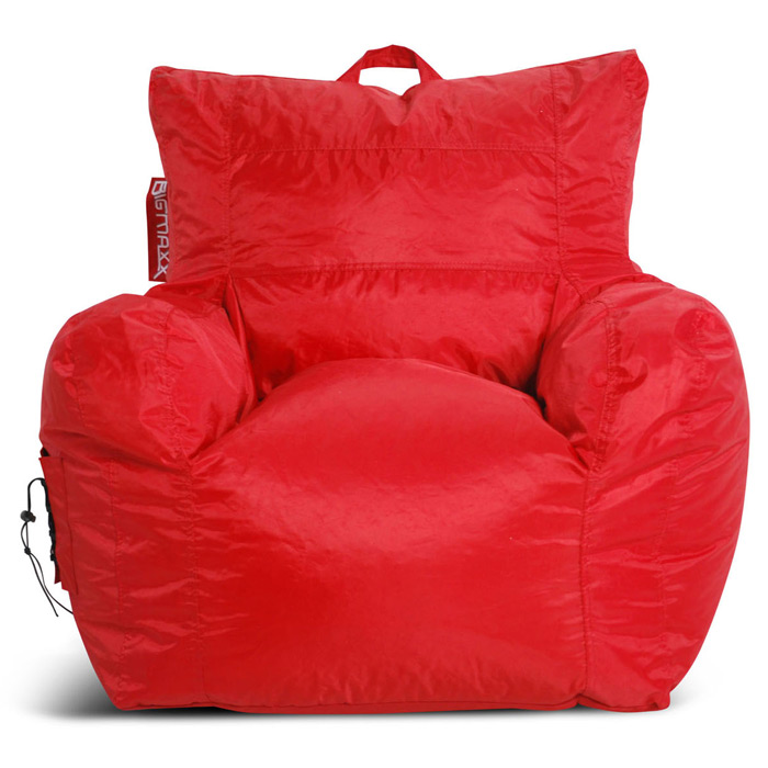 Big Maxx Kids Bean Bag Armchair - Red - EL-30-9602-054