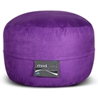 Mod Pod Bean Bag for Kids - Purple Suede