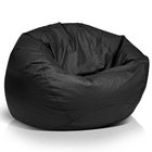 Classic Black Extra Large Bean Bag