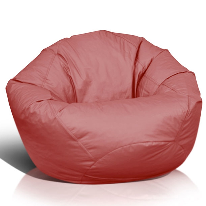 Classic Medium Bean Bag in Burgundy