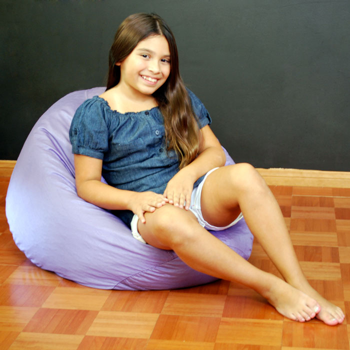 Classic Lilac Kids Bean Bag - EL-30-9500-004