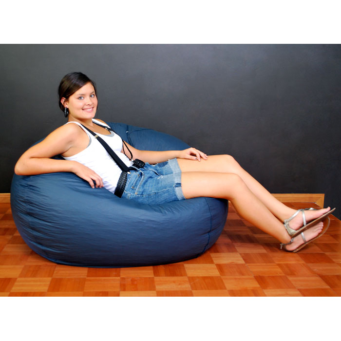 Classic Extra Large Bean Bag in Navy Blue - EL-30-9503-308
