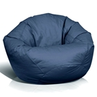 Classic Large Bean Bag in Navy Blue
