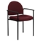 Stackable Armchair - Burgundy - FLSH-BT-516-1-BY-GG