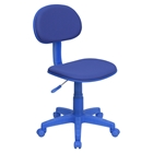 Fabric Swivel Task Chair - Blue