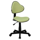 Fabric Swivel Task Chair - Height Adjustable, Avocado