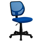 Swivel Task Chair - Low Back, Blue