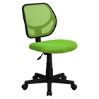 Swivel Task Chair - Low Back, Green