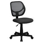 Swivel Task Chair - Low Back, Gray