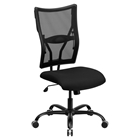Hercules Series Big and Tall Executive Swivel Office Chair - Black