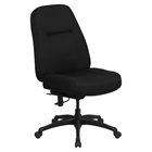 Hercules Series Big and Tall Executive Office Chair - Black, High Back