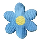 Daisy Pillow in Chenille Blue