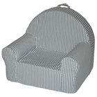 Kids My First Chair in Blue Stripe