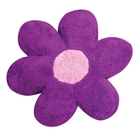 Daisy Pillow in Poodle Purple
