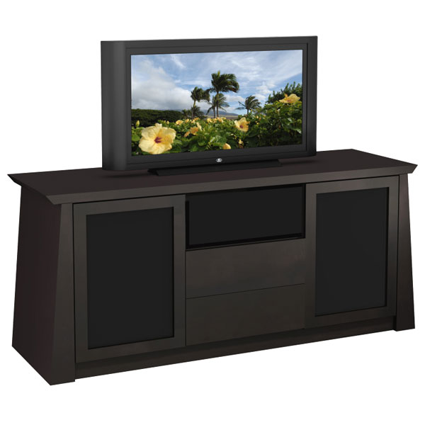 70'' Contemporary Asian TV Stand with Tapered Legs