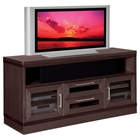62%27%27 Wide Transitional TV Stand, Wnge
