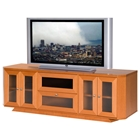 70 Wide Adjustable Shelf TV Stand Console