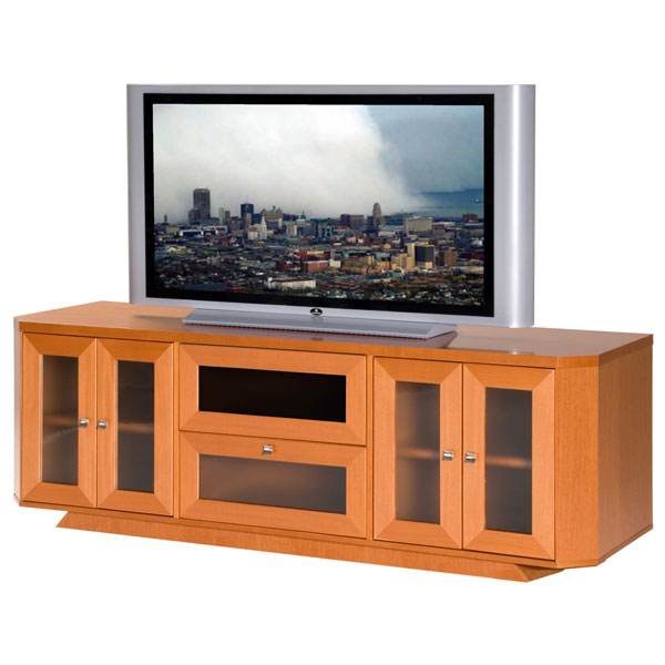 70'' Wide Adjustable Shelf TV Stand Console