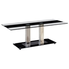 Wystan Coffee Table with Black Accent