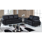 Ambrose Modern 2 Piece Leather Sofa Set