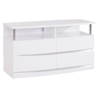Aurora Entertainment Unit in White