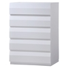 Bailey Chest - High Gloss White