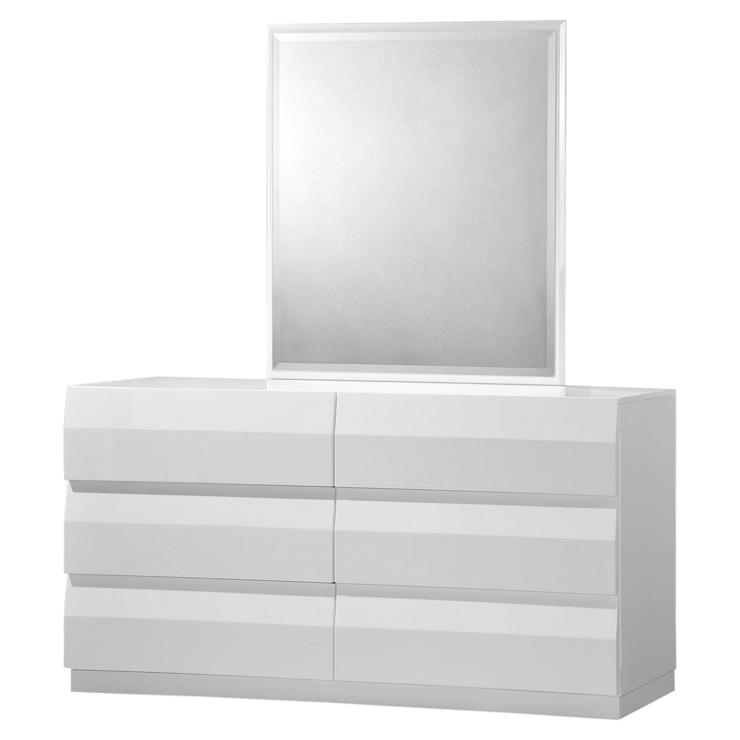 Bailey Dresser in High Gloss White - GLO-BAILEY-900A-D-M