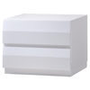Bailey Nightstand, High Gloss White