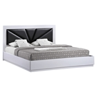 Bailey Bed - High Gloss White