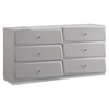Barcelona Dresser - High Gloss Silver Line