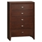 Carolina Chest - Brown Cherry - GLO-CAROLINA-FD0035B-CH-M