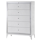 Catalina Chest - Metallic White