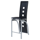 Sophia Bar Stool in Black