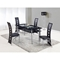 Colby Dining Table Black - GLO-D1058NDT-M